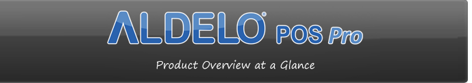 Aldelo POS Pro - The Best Restaurant Software and Restaurant POS Solution For TSR and QSR